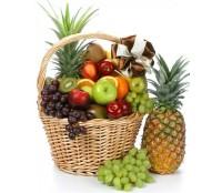 Cos cadou cu fructe delicioase 9 kg.