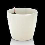 Ghiveci Lechuza classico alb 60 sau 70 cm cu sistem udare
