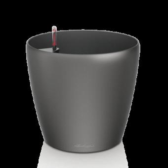 Ghiveci Lechuza classico antracit 60 sau 70 cm cu sistem udare