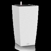 Lechuza COTTAGE ghiveci CUBICO 30 x 30 x 56 cm cu sistem udare