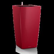 Ghiveci Lechuza cubico 22...50 cm rosu cu sistem udare