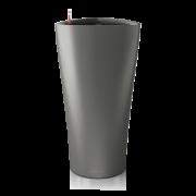Ghiveci Lechuza delta 30 sau 40 cm antracit cu sistem udare
