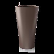 Ghiveci Lechuza delta 30 sau 40 cm espresso cu sistem udare
