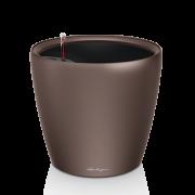 Ghiveci Lechuza classico -LS 21...43 cm espresso cu liner si sistem udare