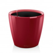 Ghiveci Lechuza classico -LS 21...43 cm rosu cu liner si sistem udare